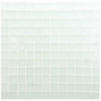 White 25x25 Clear