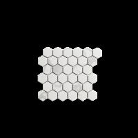 Porcelain Mosaic Hexagon Carrara 51x59  Matt