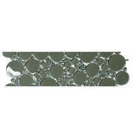 Army Bubbles Border Glossy