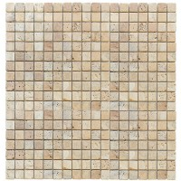 Travertine Giallo 15x15 Tumbled