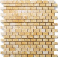 Travertine Giallo Brick 32x15 Polished
