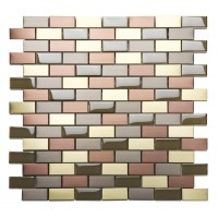 MetalPlus Mosaic Amethyst 20x40 Mixed