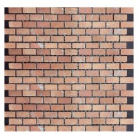 Rojo Alicante Brick 32x15 Tumbled