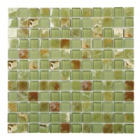 Green Onyx 25x25 Glossy, Matt + Polished