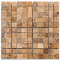 Timber Brown 25x25 Polished