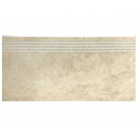 Landstone Porcelain Step Travertine Classico